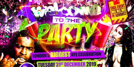 WELCOME TO THE PARTY - NEW YEARS EVE PARTY tickets