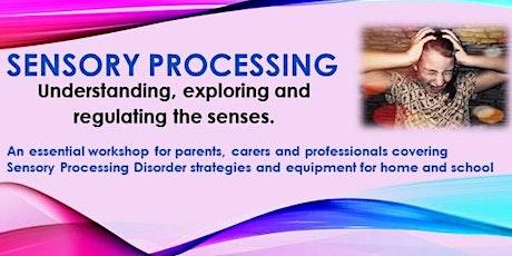 Sensory Processing: Understanding, exploring and regulating the senses tickets