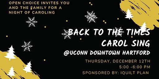 Caroling at Uconn Downtown