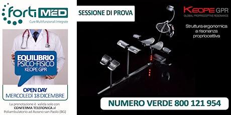 SESSIONE DI PROVA KEOPE GPR - BENESSERE PSICO FISICO -  biglietti