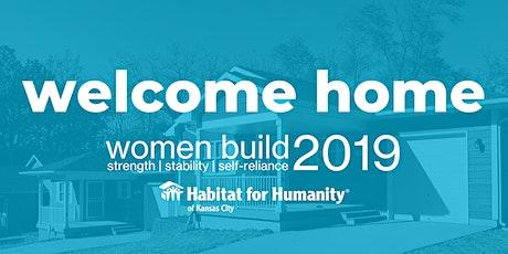 Women Build Home Dedication tickets