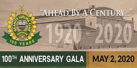 Granite Curling Club 100th Anniversary Gala tickets