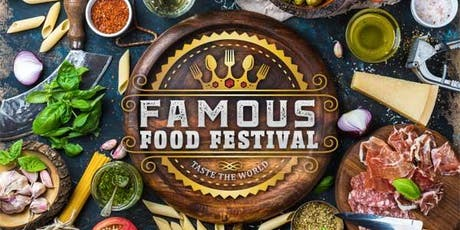 """Famous Food Festival """" Taste the World"""" tickets"""
