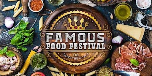 "Famous Food Festival "" Taste the World"""