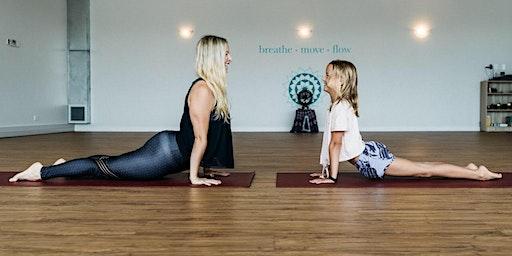 Yoga & breakfast: family edition