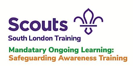 Safeguarding Awareness (ONGOING) Training tickets