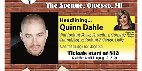 Comedy at The Avenue - Quinn Dahle tickets