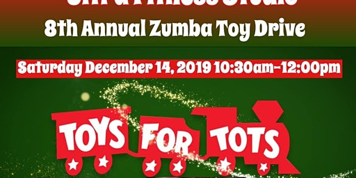 8th Annual Zumba Toys for Tots drive at UFS