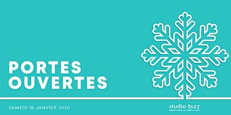 Journée PORTES OUVERTES de l'hiver 2020 au Studio Bizz tickets