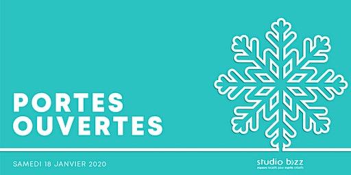 Journée PORTES OUVERTES de l'hiver 2020 au Studio Bizz