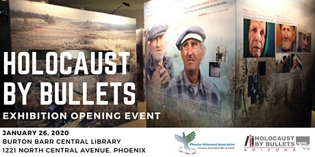 Holocaust by Bullets Exhibition Opening Event tickets