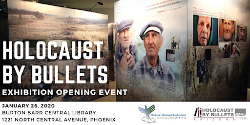Holocaust by Bullets Exhibition Opening Event