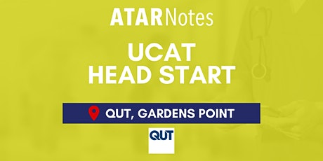 QLD UCAT Head Start Lecture - QUT tickets