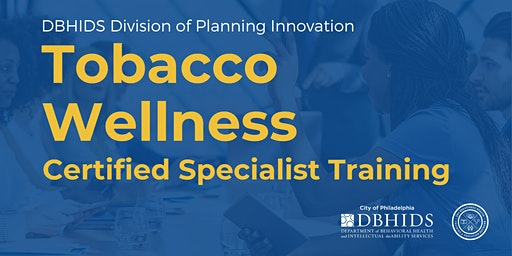 Tobacco Wellness: Certified Specialist Training