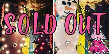 Sunday Morning Wood Snowman or Tree Paint Class tickets