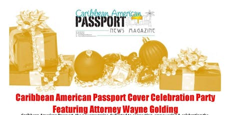 Caribbean American Passport Cover Celebration Party tickets