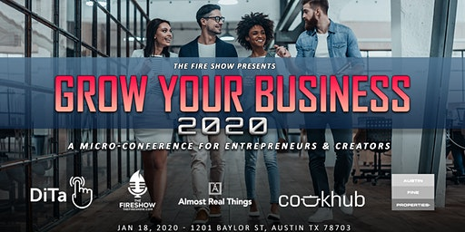 Grow Your Business 2020: Micro-Conference For Founders & Creators