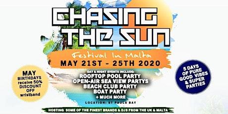 Chasing the Sun 2020, Malta tickets