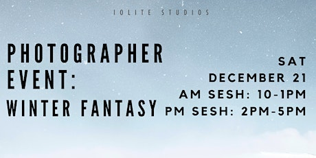 Photographer Event: Winter Fantasy tickets