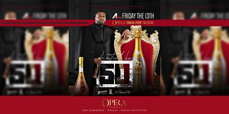 Opera Dallas Preview Weekend Hosted by 50 Cent tickets