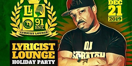 Lyricist Lounge Holiday Party tickets