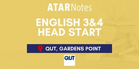 QCE English Units 3&4 (Y12) Head Start Lecture - QUT Gardens Point - REPEAT tickets