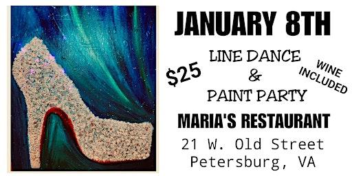 Line Dance Paint Party ($25 w/wine)