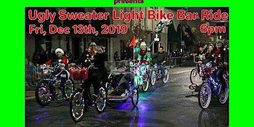 Modesto's Ugly Sweater Light Bike Ride