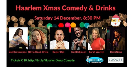 Haarlem Xmas Comedy & Drinks tickets