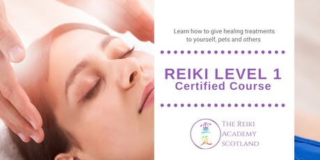 Reiki Level 1 Certified Course tickets