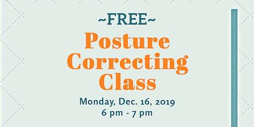 Posture Correcting Class