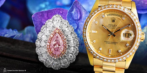 Toronto North 12.15.2019 1pm- Fine Jewellery & Swiss Watch Live Auction