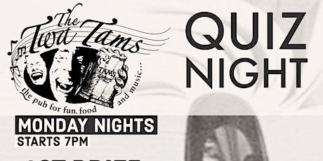 Monday Night Quiz // The Twa Tams tickets