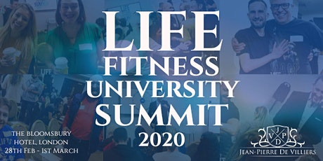 LIFE FITNESS UNIVERSITY SUMMIT 2020 - London, UK tickets