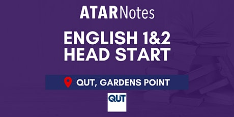 QCE English Units 1&2 (Y11) Head Start Lecture - QUT tickets