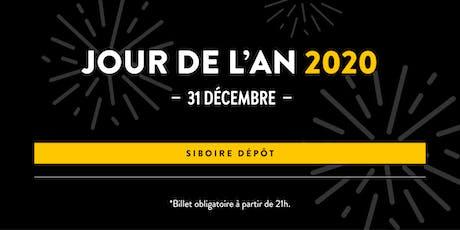 Jour de l'an | Siboire Dépôt tickets