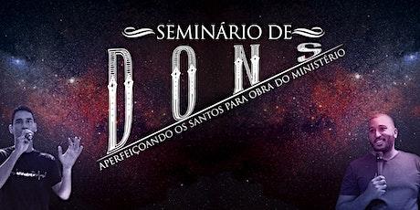 Seminário de Dons bilhetes