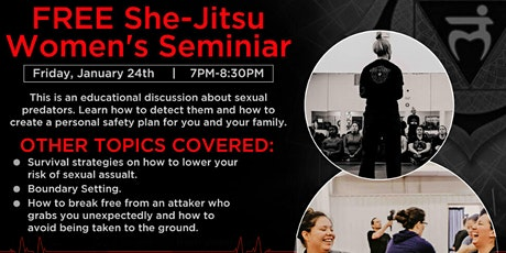 She-Jitsu Seminar tickets