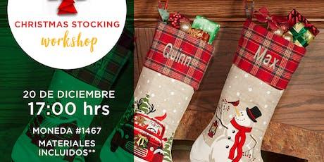 Christmas Stocking Workshop entradas