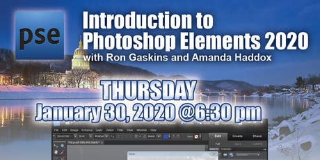 Intro to Photoshop Elements tickets