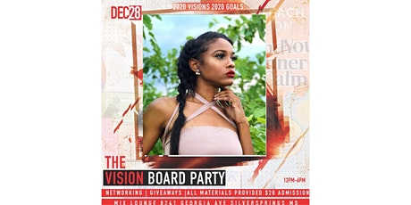 2020 Clear Vision Board Day Party  tickets