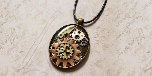 CRAFTING: Resin Clock Necklaces with Nick Jackson