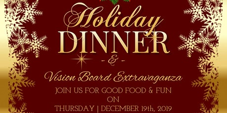 SOTS Holiday Appreciation Dinner | Vision Board Party tickets