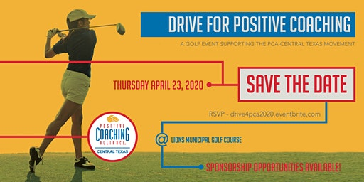 Drive for Positive Coaching 2020 Golf Event
