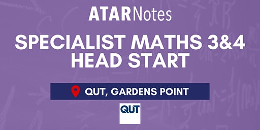 QCE Specialist Maths Units 3&4 (Y12) Head Start Lecture - QUT