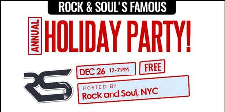 World Famous Annual Holiday Party! tickets