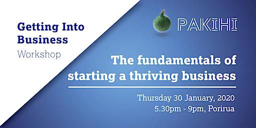 Pakihi Workshop: Getting Into Business - Porirua
