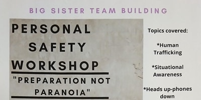 Personal Safety Workshop