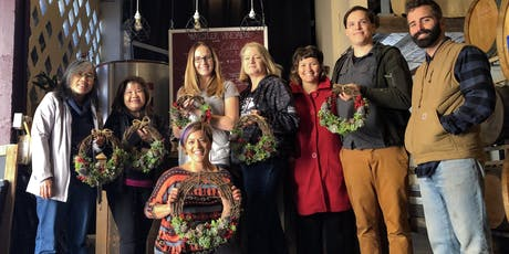 Holiday Succulent Wreath Workshop + FREE WINE! tickets
