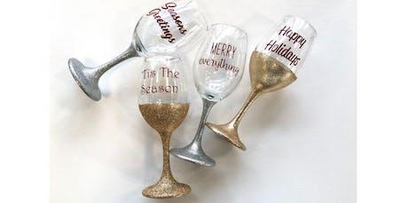 Valentines Glitter Wine Glasses (02-11-2020 starts at 7:00 PM) tickets